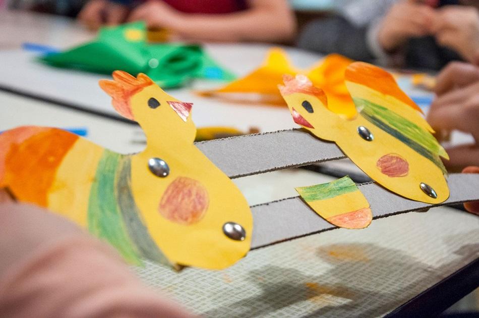 Zabawka ludowa - warsztaty w Muzem Etnograficznym