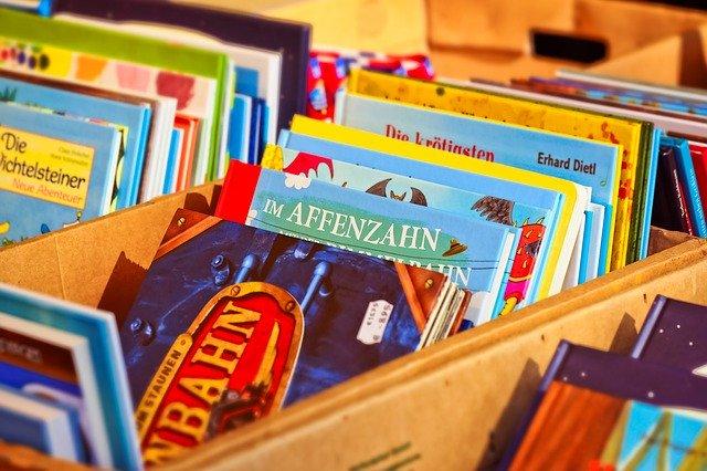 książki, Pixabay