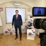 Dyrektor KPCEN w Toruniu Sławomir Żebrowski, koordynator działań e-Szkoły