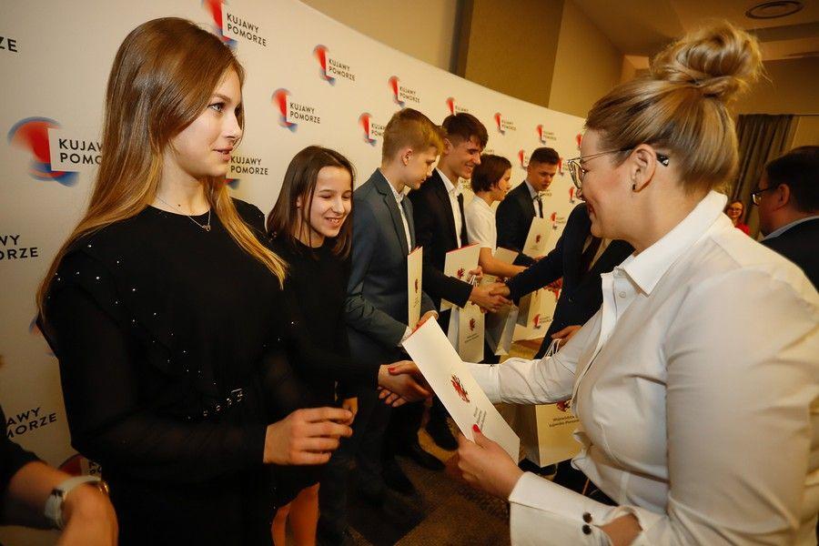 Gala wręczenia stypendiów sportowych, fot. Mikołaj Kuras