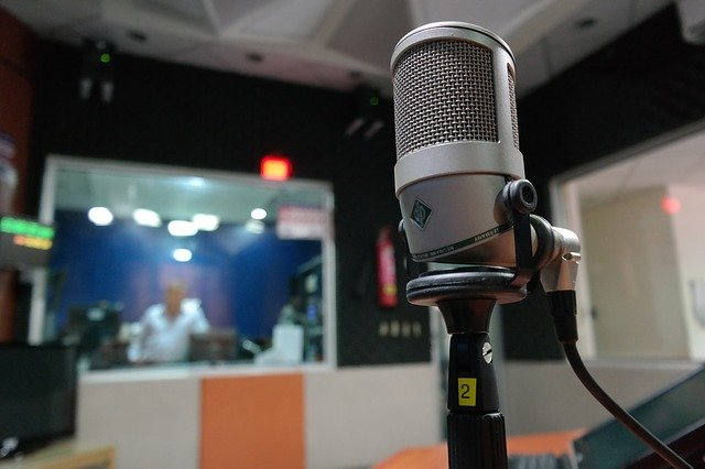 Studio radiowe, Pixabay