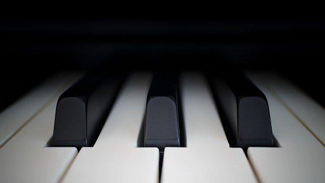 Klawiatura fortepianu, Pixabay