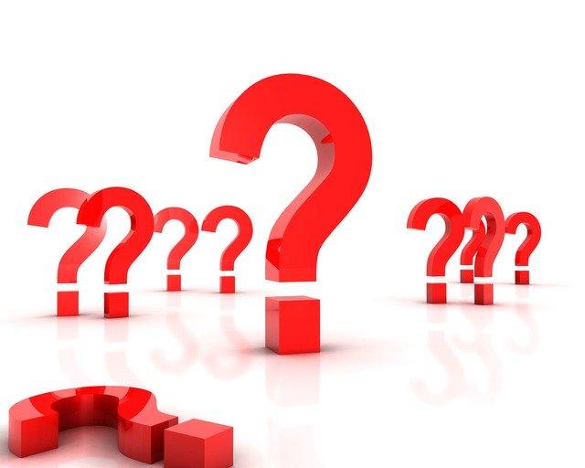 Pytania, znak zapytania, wątpliwości, Pixabay
