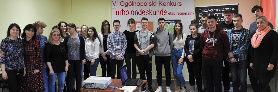 "Uczestnicy konkursu ""Turbolandeskunde"""