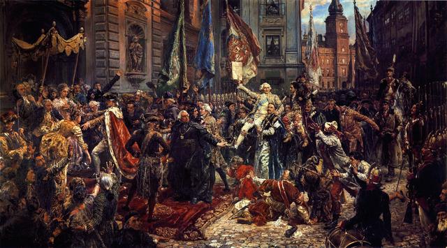 Jan Matejko, Konstytucja 3 Maja, Wikimedia Commons (domena publiczna)