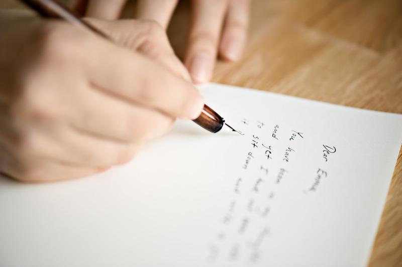 pisać list
