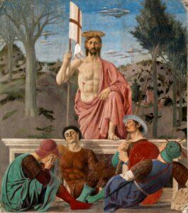 Piero della Franscesca - Zmartwychwstanie