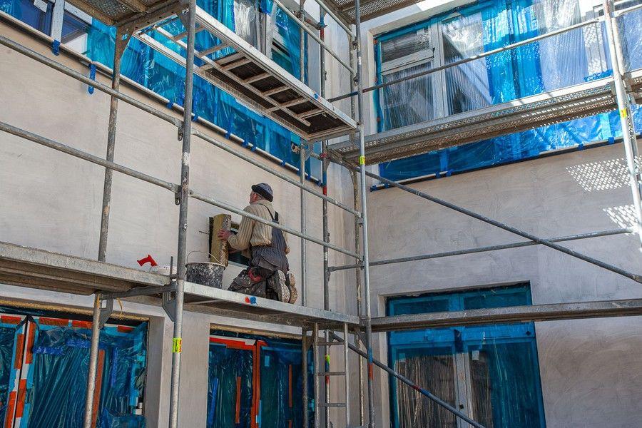 W nowym budynku powstanie 10 nowoczesnych pracowni, fot. Filip Kowalkowski dla UMWKP