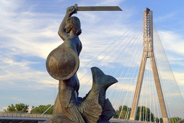 Warszawa, Pomnik Syreny