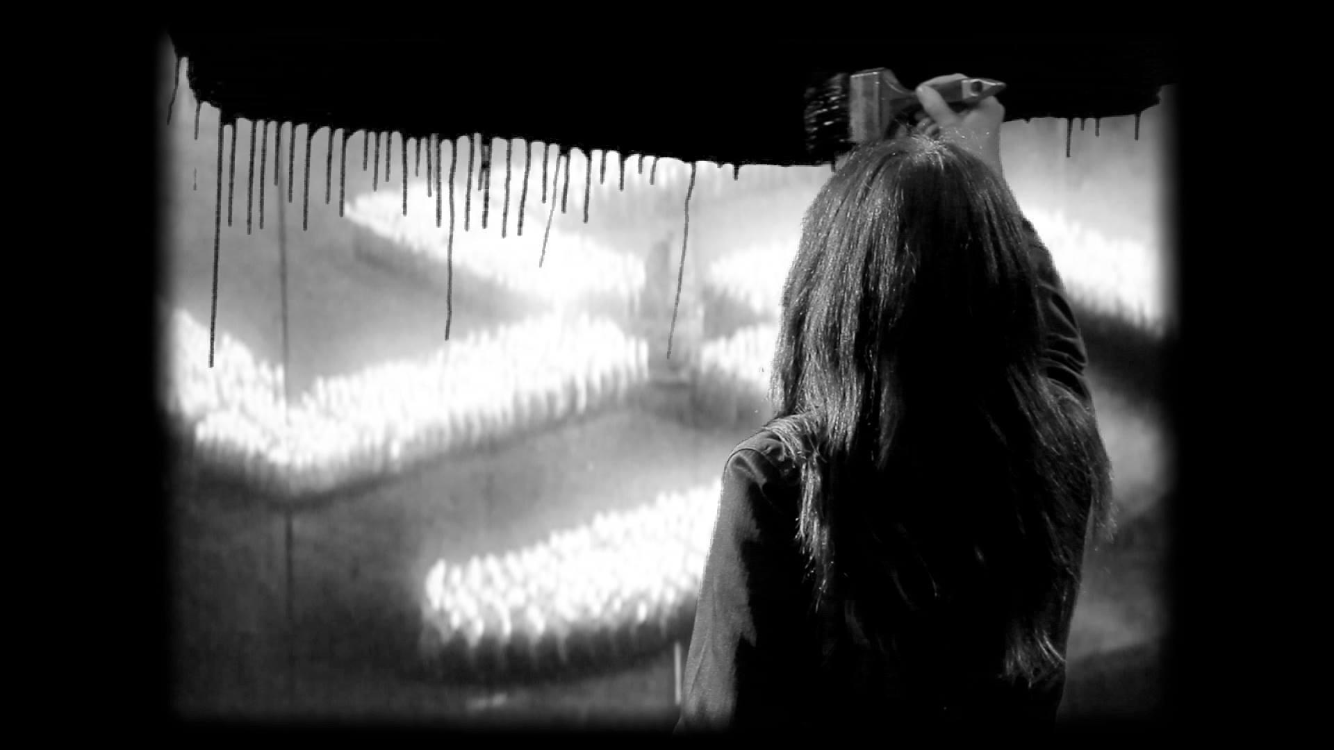 Ewa Bloom Kwiatkowska, PUNCTUM_ŚWIADOMOŚĆ WZROKOWA, 2013, kadr z wideo