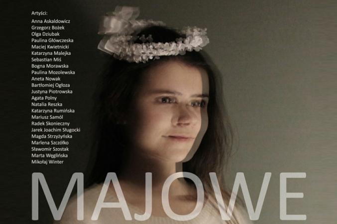 Fragment plakatu. Autor plakatu: Maciej Kwietnicki; na zdjęciu Agata Polny