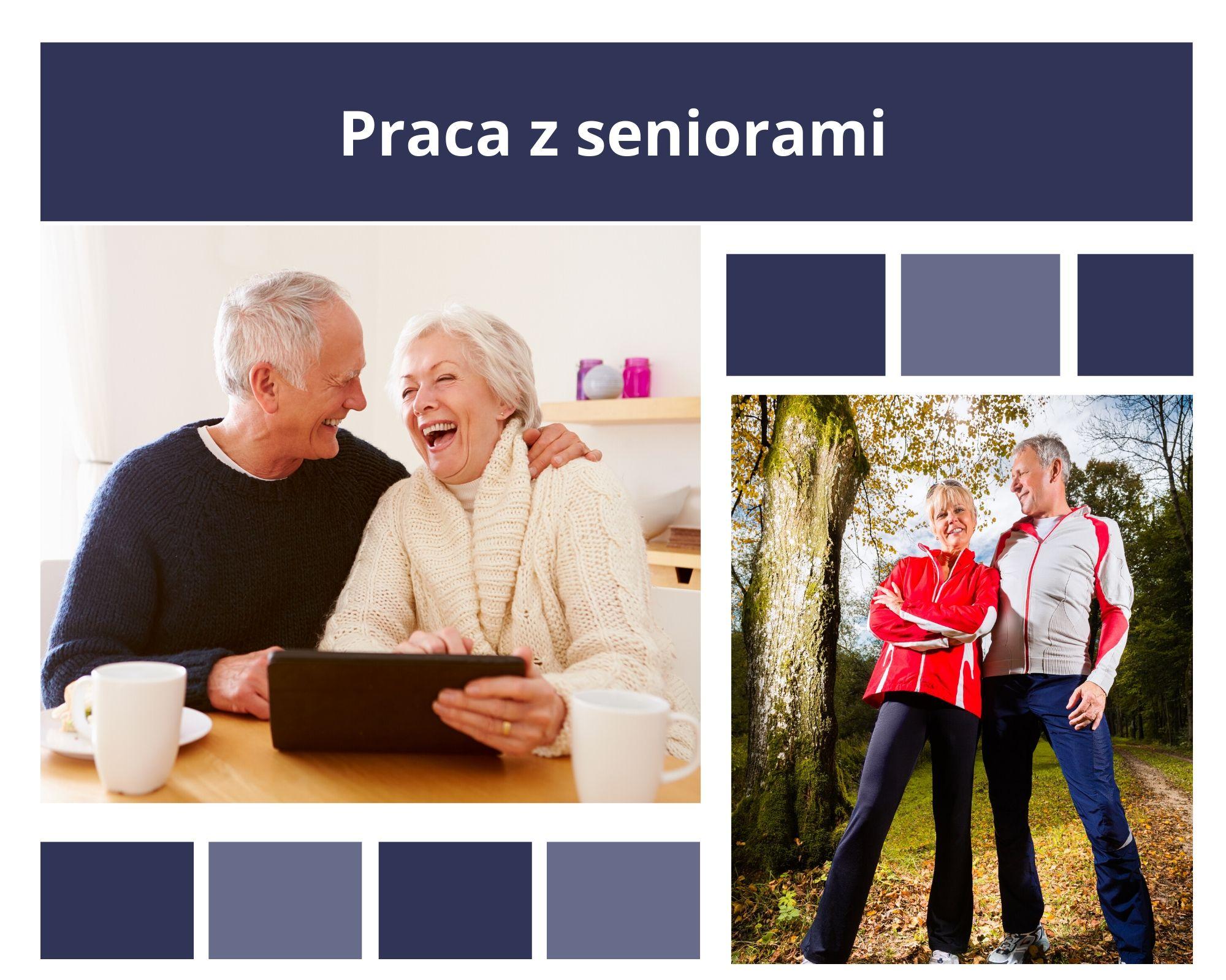 Praca z seniorami - konsultacje online