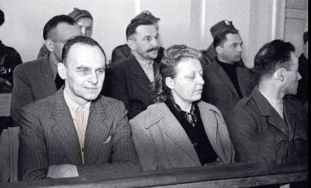 Witold Pilecki na ławie oskarżonych w 1948