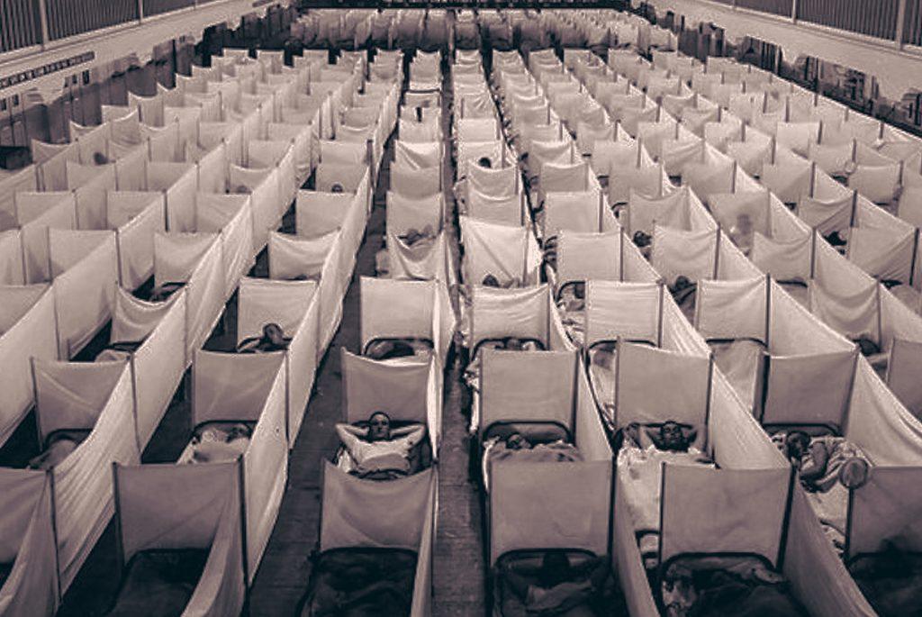 Epidemia hiszpanki na fotografii