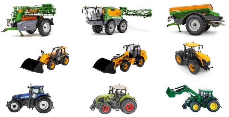 maszyny rolnicze - modele