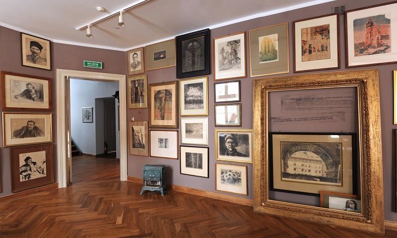 Wnętrze Domu Leona Wyczółkowskiego, fot. W. Woźniak