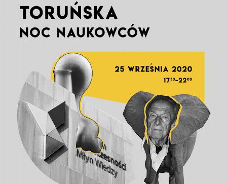 Toruńska noc naukowców- ilustracja