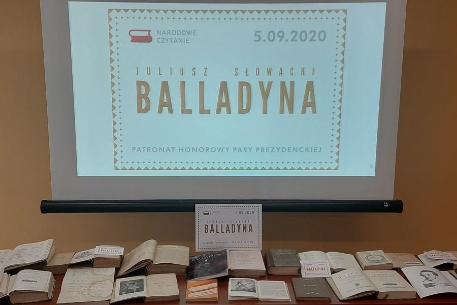 Narodowe Czytanie 2020 w PBW w Bydgoszczy