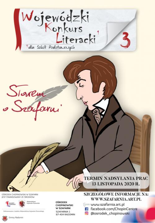 Konkurs literacki plakat