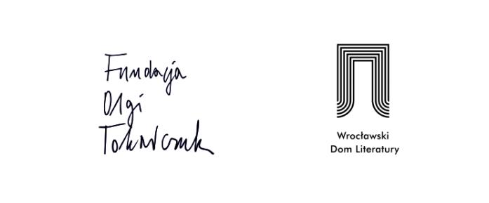 Fundacja Olgi Tokarczuk - Wrocławski Dom Literatury - logotypy