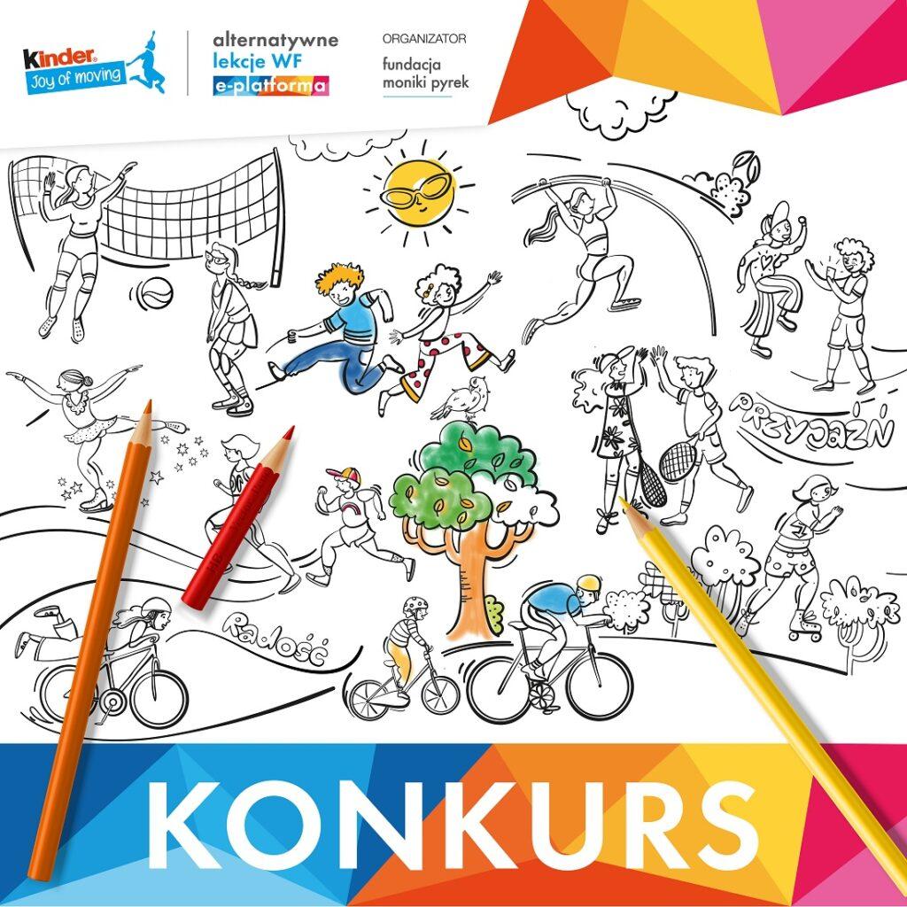 Konkurs Pokoloruj świat na sportowo