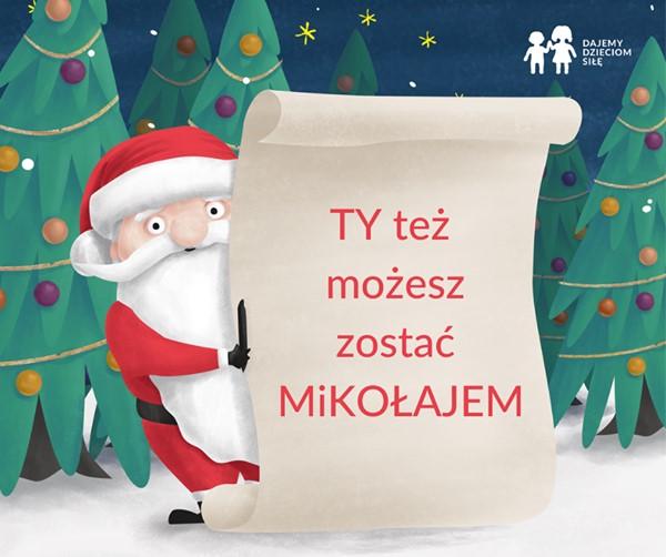 Ty też możesz zostać Mikołajem