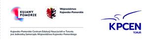 logo KPCEN Toruń i województwa kujawsko-pomorskiego