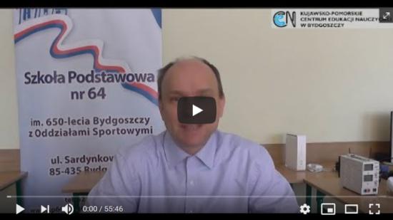 Energia elektryczna, Mariusz Spytek - doradca metodyczny KPCEN w Bydgoszczy