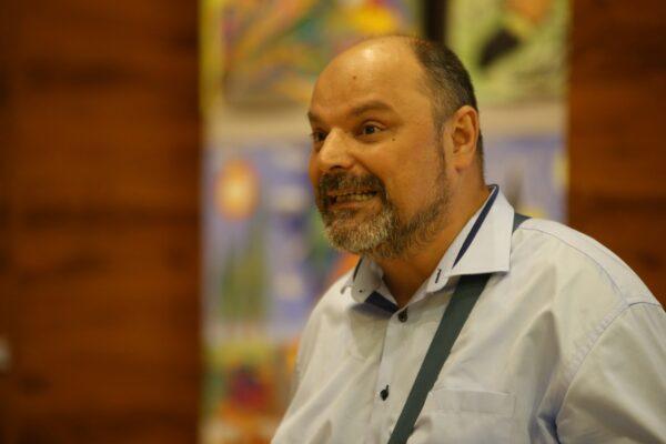 Na zdjęciu Piotr Paprocki