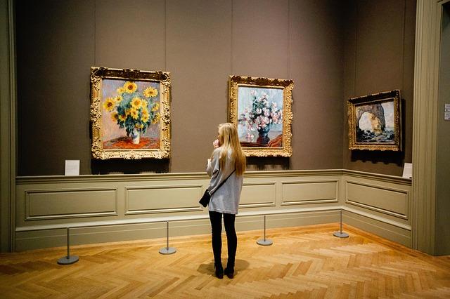 Na wystawie malarstwa