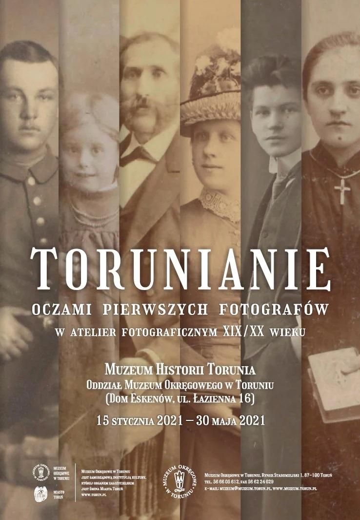 Torunianie oczami pierwszych fotografów plakat