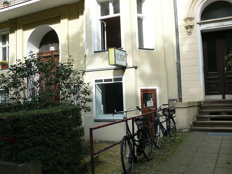 Deutsch: Berlin-Wilmersdorf Schaperstraße ehemalige Galerie René Block