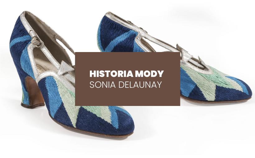 Historia mody: Sonia Delaunay. Tkaniny, wzory, ubiory