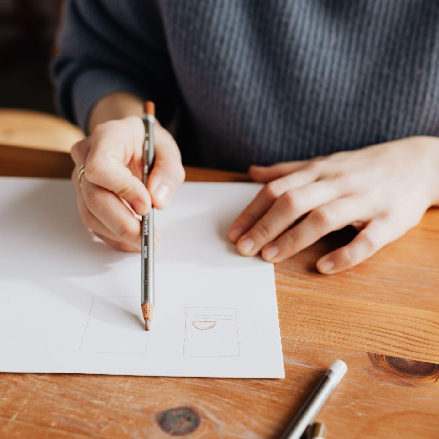 Rysowanie, szkicowanie ołówkiem