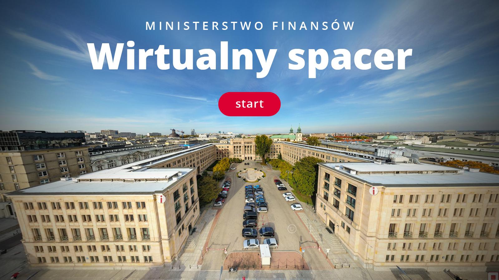 Wirtualny spacer po Ministerstwie Finansów