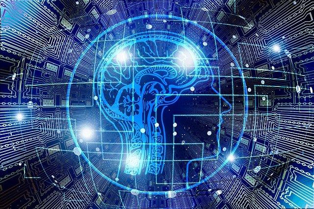 grafika przedstawiająca sztuczną inteligencję
