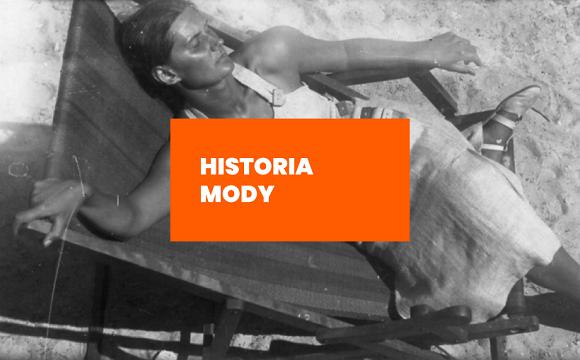 Historia mody: Moda w kurortach nadmorskich w okresie międzywojennym