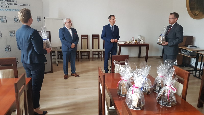 Podziękowania, zdj. KPCEN Bydgoszcz
