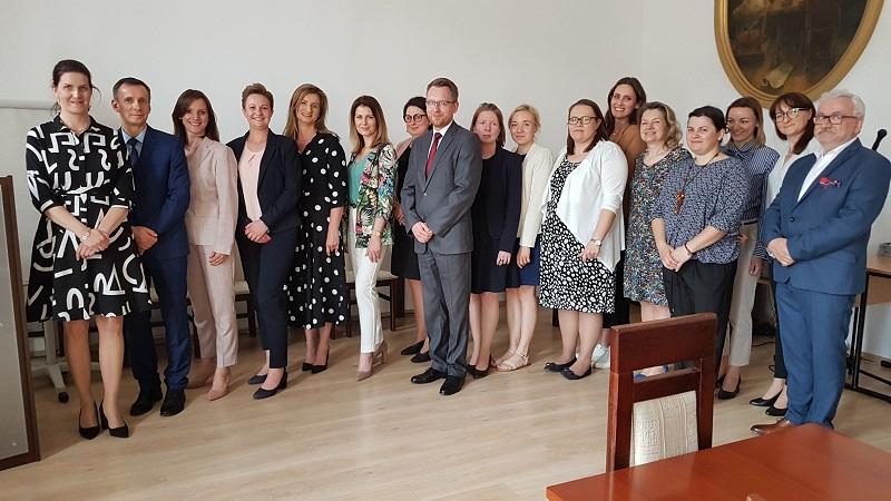 Uczestnicy kursu, zdj. KPCEN Bydgoszcz