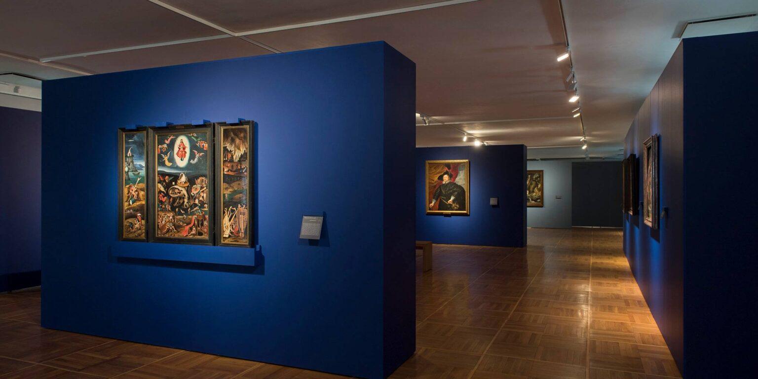 """wystawa """"Malarstwo niderlandzkie i flamandzkie ze zbiorów Zamku Królewskiego na Wawelu"""""""