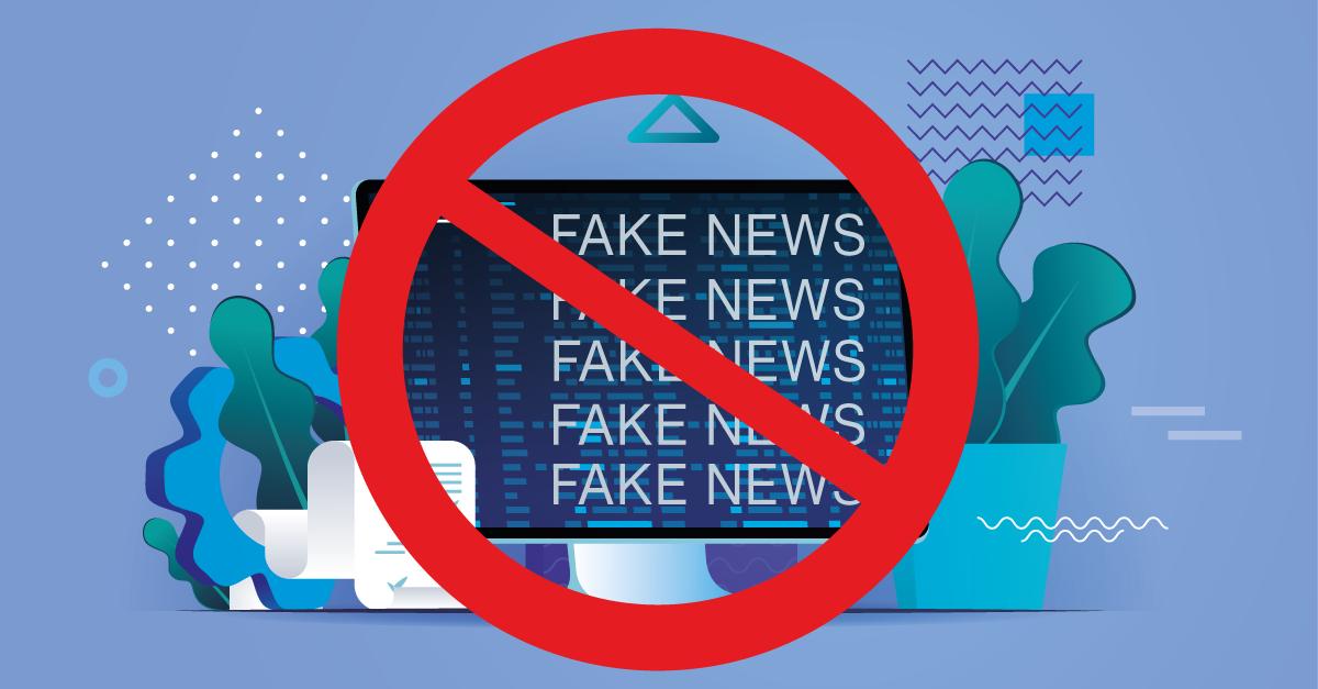 fake news grafika