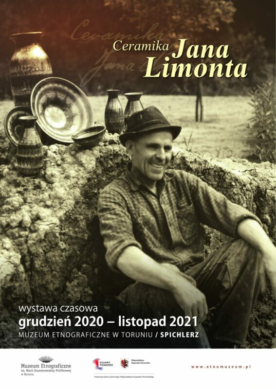 Ceramika Jana Limonta plakat