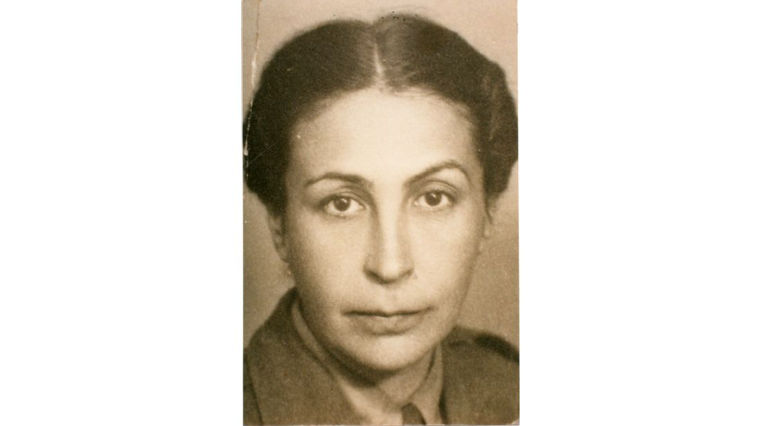 Na zdjęciu: Kapitan Władysława Piechowska, komendantka główna Pomocniczej Służby Kobiet.