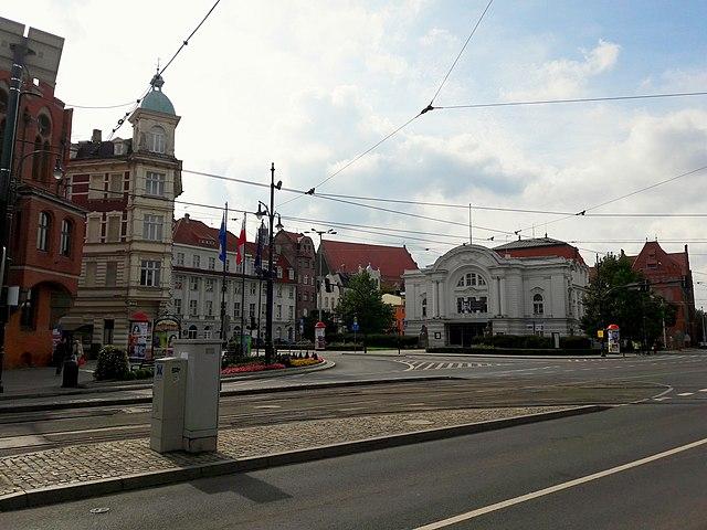 Teatr im. Wilama Horzycy w Toruniu (Wikimedia Commons)