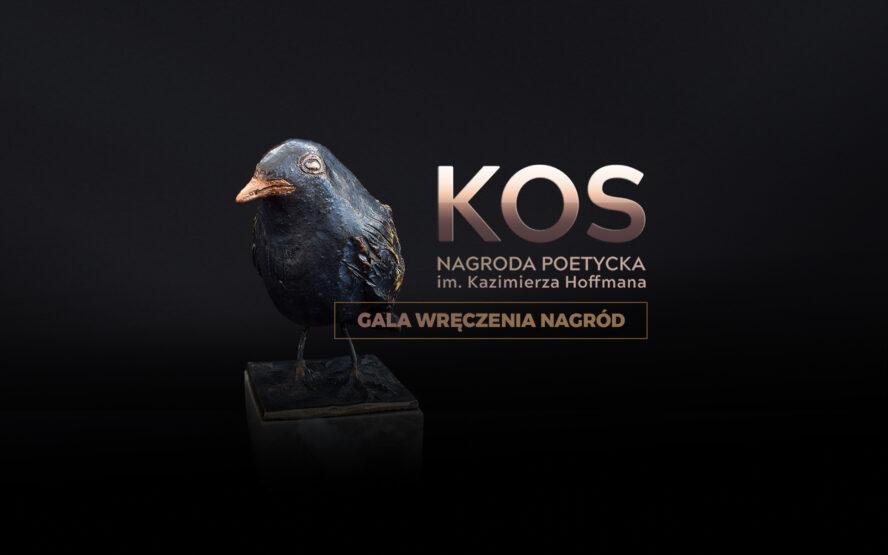 """""""KOS"""" - Nagroda Poetycka im. Kazimierza Hoffmana grafika"""
