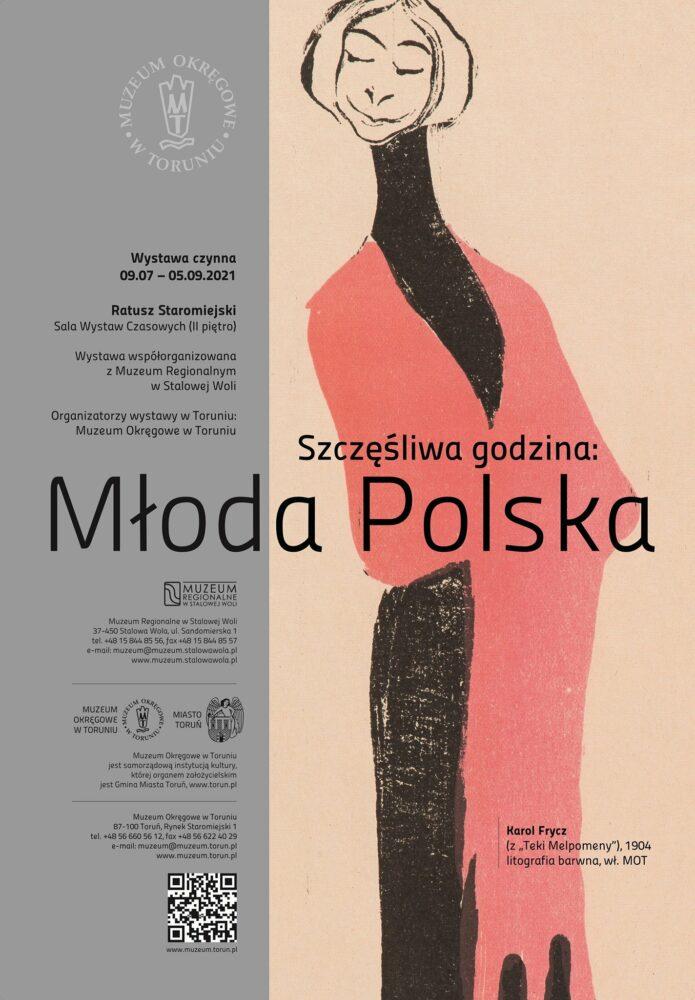 Szczęśliwa Godzina: Młoda Polska - plakat