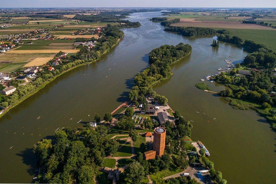 Jezioro Gopło, fot. Szymon Zdziebło tarantoga.pl dla UMWKP