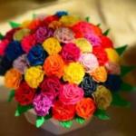 pałuckie kwiaty z bibuły