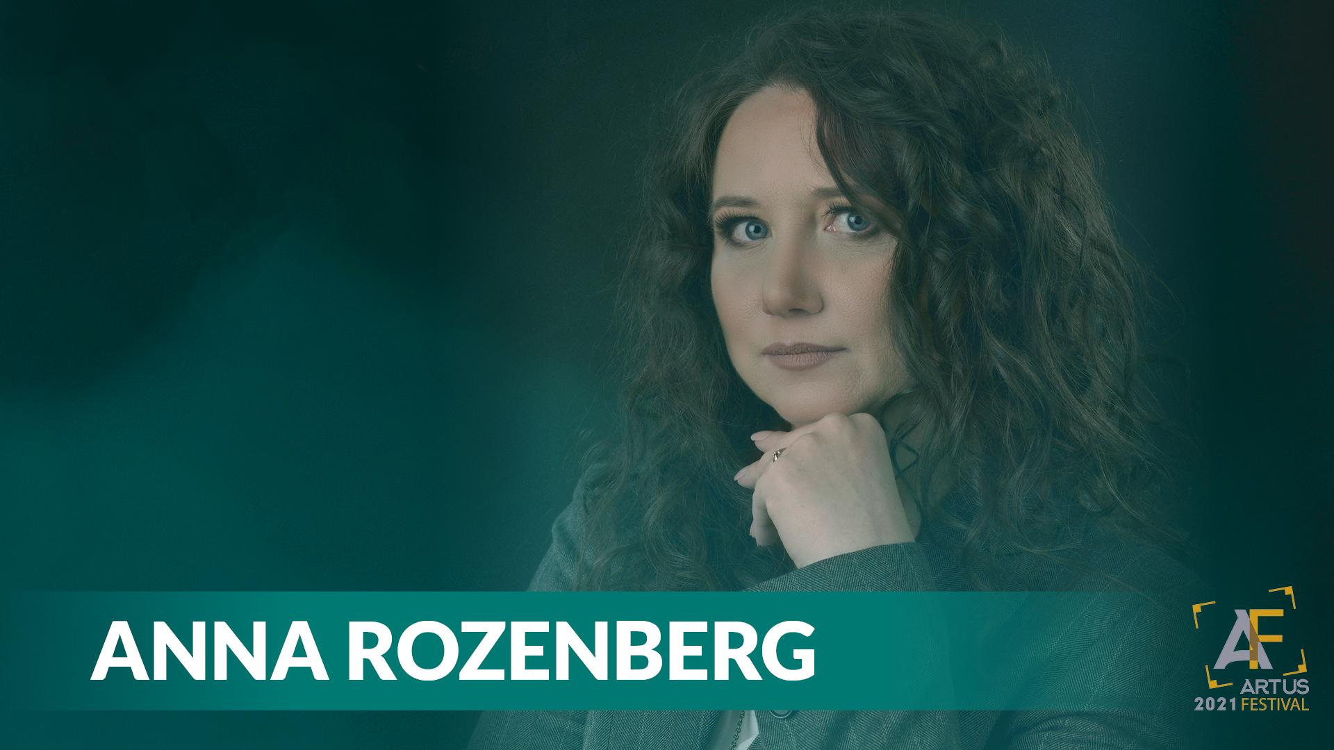 Na zdjęciu Anna Rozenberg