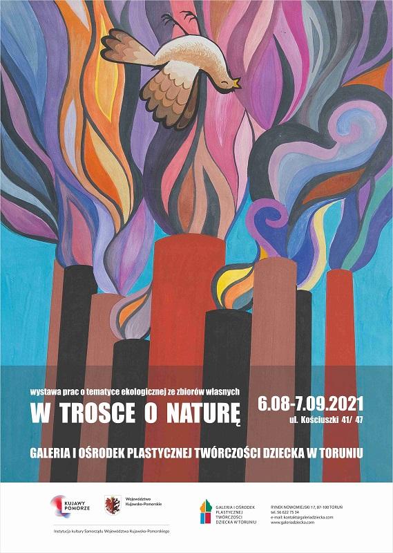 plakat W trosce o naturę